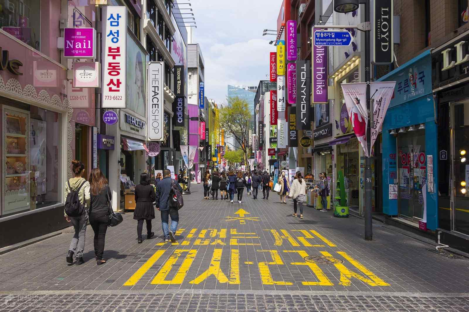 韩国风景之首尔街头掠影第四辑
