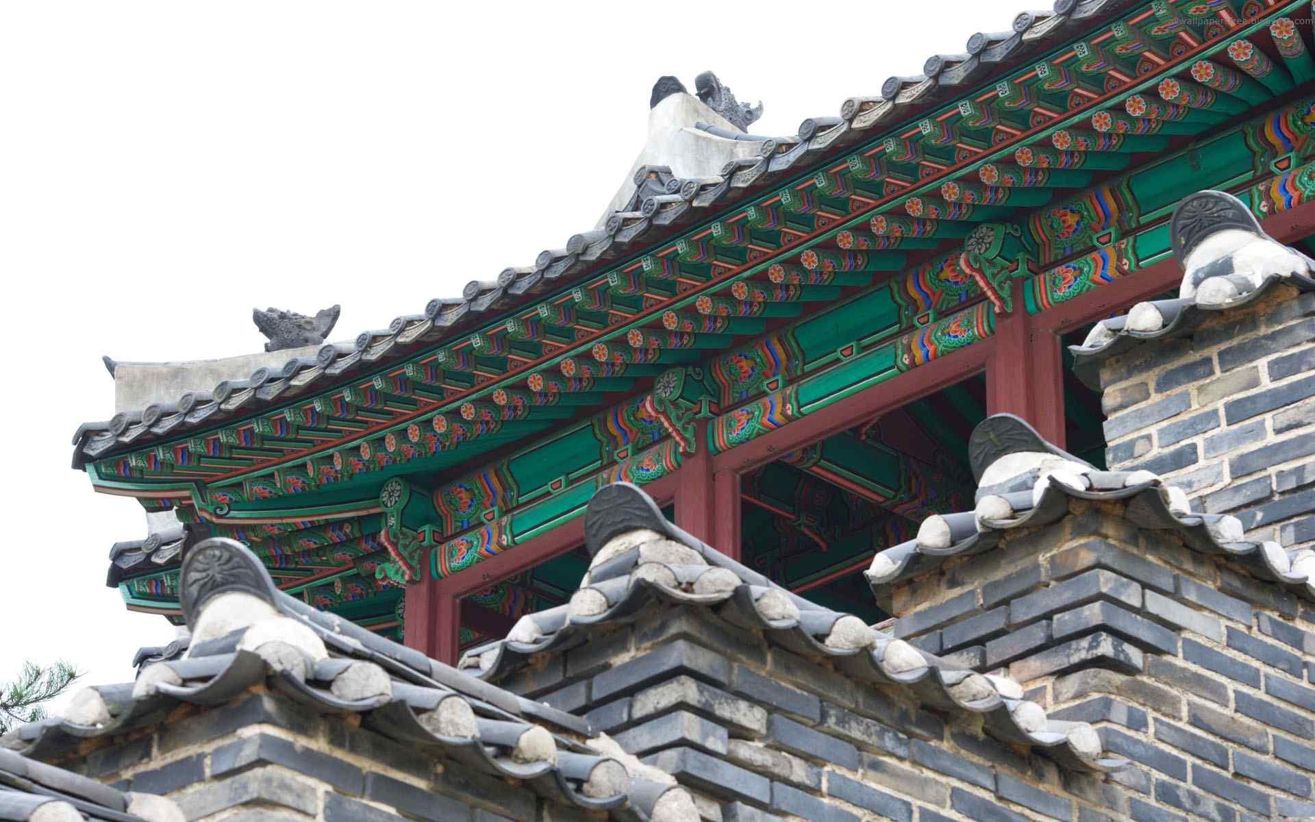 韩国古典宫殿桌面壁纸第五辑