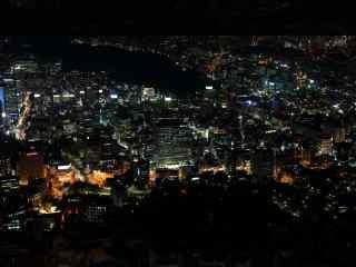 韩国的浪漫夜晚桌面壁纸第四辑