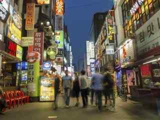 韩国风景之首尔街头掠影第一辑
