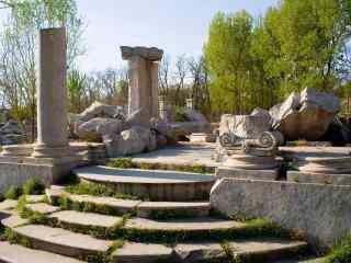 北京圆明园遗址公园桌面壁纸