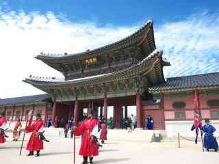 韩国古典宫殿桌面壁纸第一辑