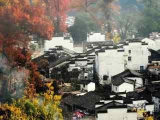 中国五大文艺之都美丽的婺源