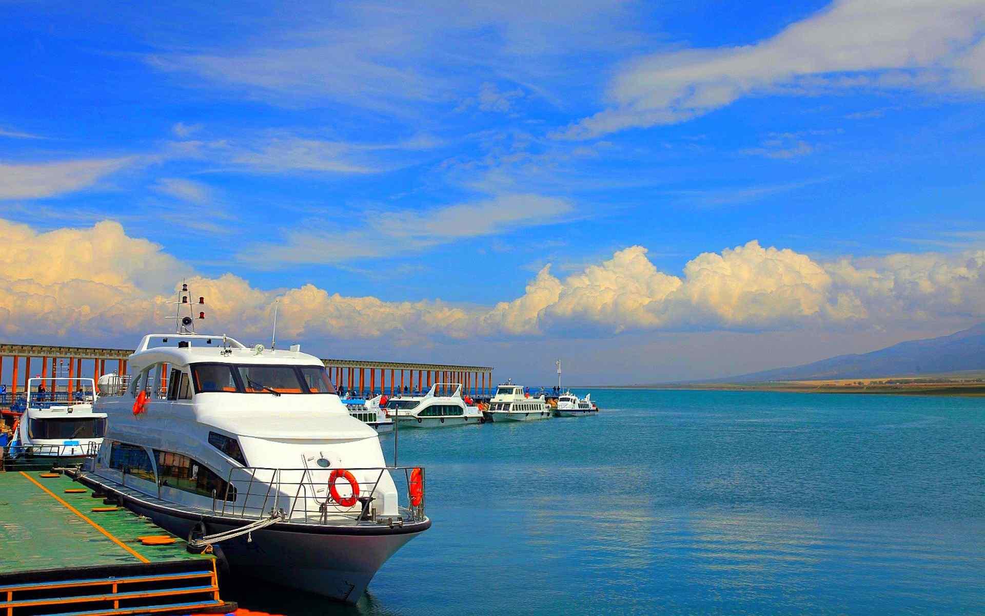 青海湖美景桌面壁纸第五辑