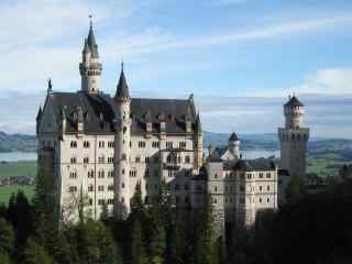 最古老美丽的德国城堡图桌面壁纸