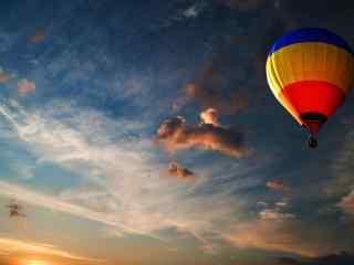 日出时的唯美热气球桌面壁纸第三辑11张