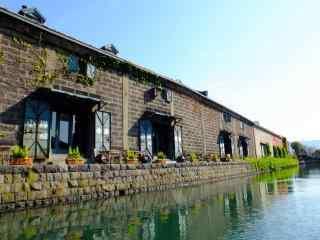 小樽运河北海道风光桌面壁纸