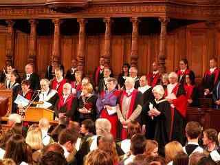 苏格兰爱丁堡文化节合唱艺术表演高清壁纸