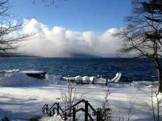 雪国北海道唯美雪景桌面壁纸9