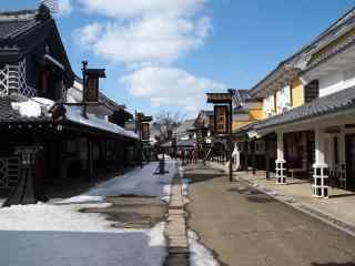 雪国北海道唯美雪景桌面壁纸8