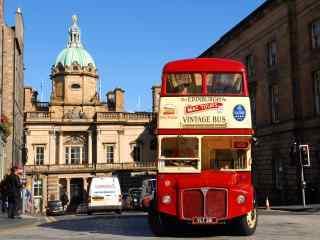 苏格兰爱丁堡城市风景图片高清桌面壁纸