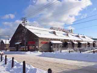 雪国北海道唯美雪景桌面壁纸10
