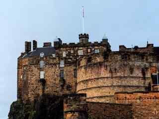 苏格兰爱丁堡城堡高清图片桌面壁纸