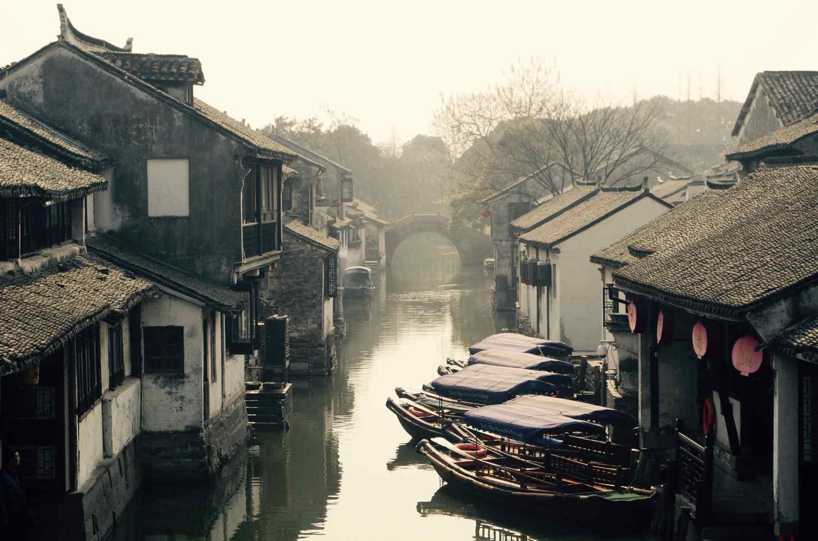 江南水乡情之苏州周庄风景壁纸