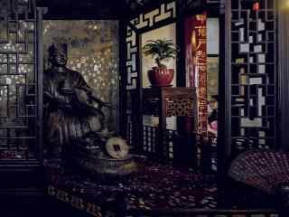 苏州周庄景点之沈厅风景壁纸