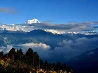 尼泊尔自然风景高清电脑壁纸