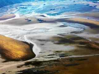 福建霞浦最美的滩涂风光桌面壁纸2