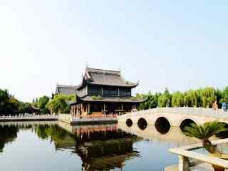 苏州周庄景点之全福讲寺风景壁纸