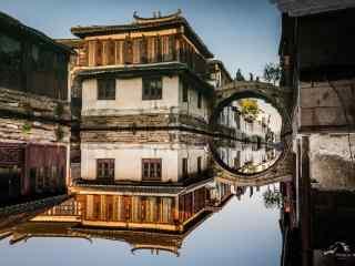 印象周庄之唯美的周庄古镇风景壁纸