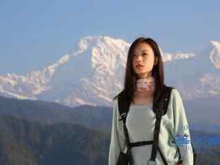 尼泊尔《等风来》电影雪山拍摄地高清图片壁纸