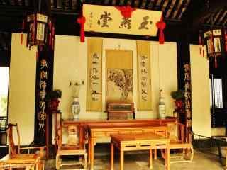 苏州周庄景点之张厅风景壁纸