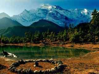 美丽尼泊尔自然风景风光高清电脑壁纸
