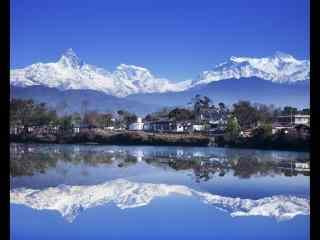天空之境尼泊尔自然风景风光高清电脑壁纸