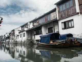 唯美的江南水乡之苏州周庄风景壁纸