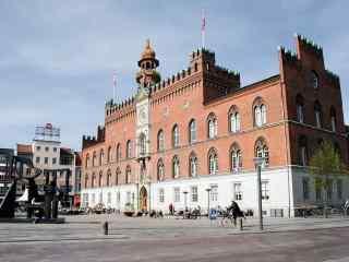 丹麦欧登塞市政厅