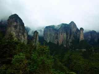 仙居公盂山自然风光桌面壁纸