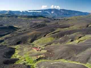 冰岛高地自然风光桌面壁纸