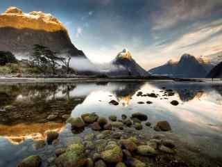 挪威峡湾风景高清桌面壁纸