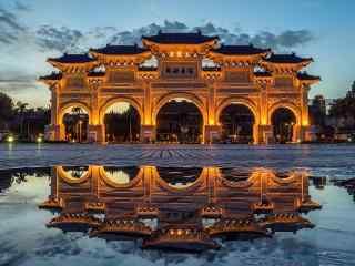 台北中正纪念堂风景壁纸