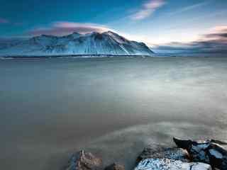 冰岛绮丽壮观的自然风光摄影桌面壁纸