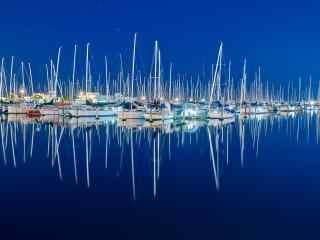 新西兰的千帆之都奥克兰风景壁纸