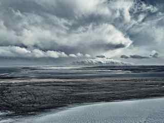 冰岛绮丽壮观的极地风光桌面壁纸