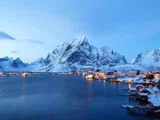 北欧挪威极光高清电脑桌面壁纸