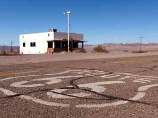 美国自驾游公路著名66号公路风光桌面壁纸
