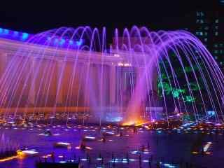 炫彩灯光喷泉大连