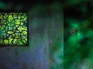 绿色清新园林苏州