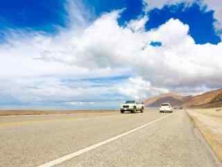 美国加州一号公路风光桌面壁纸