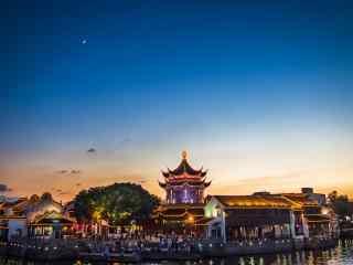 苏州繁华夜景桌面