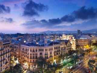 大连唯美城市夜景桌面壁纸