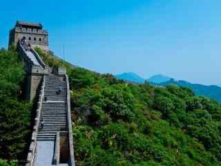 北京八达岭长城威武雄壮桌面壁纸