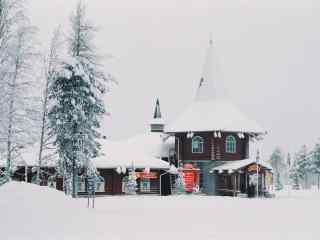 北欧风情小屋山林