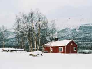 银装素裹的瑞典乡村雪景图(8张)