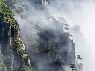 黄山云雾桌面壁纸