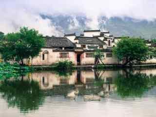 徽州古城村落图片
