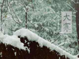 二十四节气之小寒风景桌面壁纸(11张)