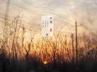 二十四节气之小寒风景桌面壁纸(5张)